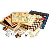 Игры из дерева 10 шт. 35,1х35,1х6,2см (Philos 9960)