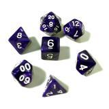 Набор перламутровых/мраморных кубиков RPG 7 шт (цвет в ассортименте)