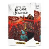 A.O.S BATTLE MAT: KHORNE DOMINION