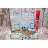 Скретч карта Украины My Map Native edition UKR в наборе для любимого человека In Love