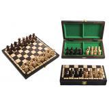 Шахматы 3134 PEARL Small коричневые 29x14x5см (король-65мм)