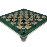 Шахматы S7GREEN 36х36см, Manopoulos,