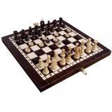 Комплект шахматы + шашки + нарды средние