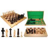 Шахматы 310405 ROYAL, дубовые 62x31,5x7см (король-125мм)