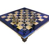 Шахматы S12BLU 44х44см Manopoulos,