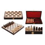 Шахматы 3151 ROYAL maxi, коричневые 31х15,5х4,5см (король-65мм)