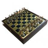 Шахматы SK5BLU 34х34см, Manopoulos,