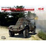 Французский командирский бронеавтомобиль Panhard 178 AMD-35, ІІ МВ (ICM 35375)