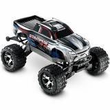 Автомобиль Traxxas Stampede Brushless Monster 1:10 ARTR 500 мм 4WD TSM 2,4 ГГц (67086-4 Silver)