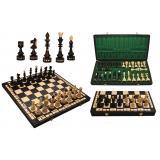 Шахматы 311901 INDIAN LARGE, коричневые 54x27x5.5см (король-125мм)