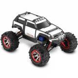 Автомобиль Traxxas Summit VXL Brushless Monster 1:16 RTR 320 мм 4WD TSM 2,4 ГГц (72076-3 White)
