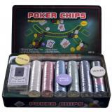 Покерный набор на 300 фишек в оловянной коробке, номинал 1-50, 4гр (арт. TC04300)
