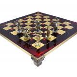 Шахматы S17RED 54х54, Manopoulos,