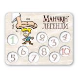 Лічильник рівнів «Манчкін Легенди» №1