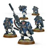 SPACE MARINE SCOUTS WITH SNIPER RIFLES
