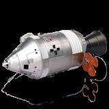 Объемный пазл Командный модуль ракеты (26371)