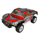 Автомобиль HSP Destrier 1:10 шорт-корс 4WD нитро серый/красный  RTR