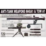 ANTI-TANK WEAPONS(106mm TOW) (AF35021) Масштаб:  1:35