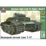 ARK35015 Pz.Kpfw I Ausf.F German light tank (ARK35015) Масштаб:  1:35
