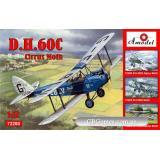 Биплан de Havilland DH.60C Cirrus Moth (AMO72280) Масштаб:  1:72