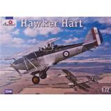 Биплан Хоукер Харт (Hawker Hart) (AMO72240) Масштаб:  1:72