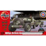 Британский бортовой джип Willys (AIR02339) Масштаб:  1:72