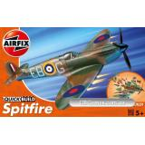 Британский истребитель Spitfire (быстрая сборка без клея) (AIR-J6000) Масштаб: