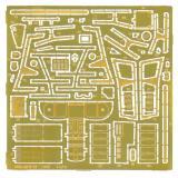 Фототравление: МИГ-29 9-13 для набора ICM (PE7254) Масштаб:  1:72