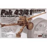 GERMAN 88mm PAK- 43/41 (AF35059) Масштаб:  1:35