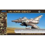 Истребитель KFIR C2/C7 (AMK88001) Масштаб:  1:48