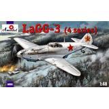 Истребитель-моноплан ЛаГГ-3 (AMO4809) Масштаб:  1:48