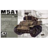 M5 LIGHT TANK (EARLY) (AF35105) Масштаб:  1:35