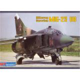 Микоян МиГ-23УБ учебно-боевой самолет (ART7210) Масштаб:  1:72