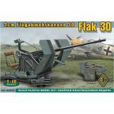 Немецкое 2cm зенитное оружие Flak 30 (ACE48102) Масштаб:  1:48