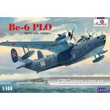 Разведывательный и патрульный самолет Бериев Бе-6 PLO (AMO1474) Масштаб:  1:144