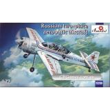 Российский двуместный спортивный самолет Сухой Су-29 (AMO72269) Масштаб:  1:72