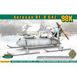 Самоходные сани РФ-8 (ГАЗ-98К) (ACE72517) Масштаб:  1:72