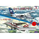 Самолеты Let L-410UVP-E и L-410UVP (2 модели в комплекте) (AMO1472) Масштаб:  1:144