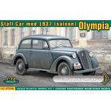 Штабная машина Olympia 1937 (ACE72506) Масштаб:  1:72