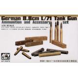 Снаряды, укупорка для PAK43/41 (AF35072) Масштаб:  1:35