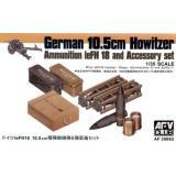 Снаряды, укупорка, ящики для GERMAN leFH18 105mm (AF35062) Масштаб:  1:35