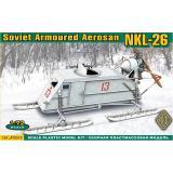 Советские бронированные аэросани НКЛ-26 / Soviet armored aerosan NKL-26 (ACE72515) Масштаб:  1:72
