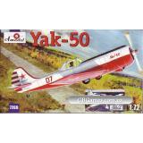 Спортивно-пилотажный самолет Як-50/50-2 (AMO7269-01) Масштаб:  1:72