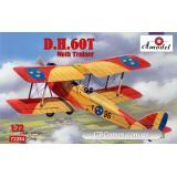 Учебно-тренировочный самолет de Havilland DH.60T Moth Trainer (AMO72284) Масштаб:  1:72