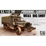 WC63 1-1/2T 6x6 PERSONELL CARRIER (AF35S18) Масштаб:  1:35