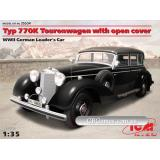 ICM35534  Typ 770K Tourenwagen with open cover, WWII German Leader's car