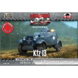 Бронеавтомобиль Kfz 13 (FTF006) Масштаб:  1:72