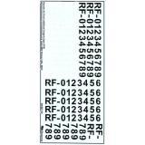 Декаль: Дополнительные опознавательные знаки ВВС России (образца 2010 года) (BD48027) Масштаб:  1:48