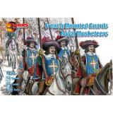Французские конные стражники королевских мушкетеров (MS72045) Масштаб:  1:72