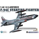 Истребитель F-94C Starfire (KH80101) Масштаб:  1:48